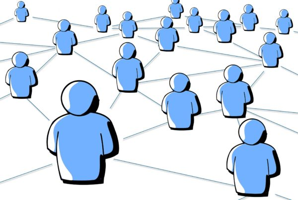 connected people graphic