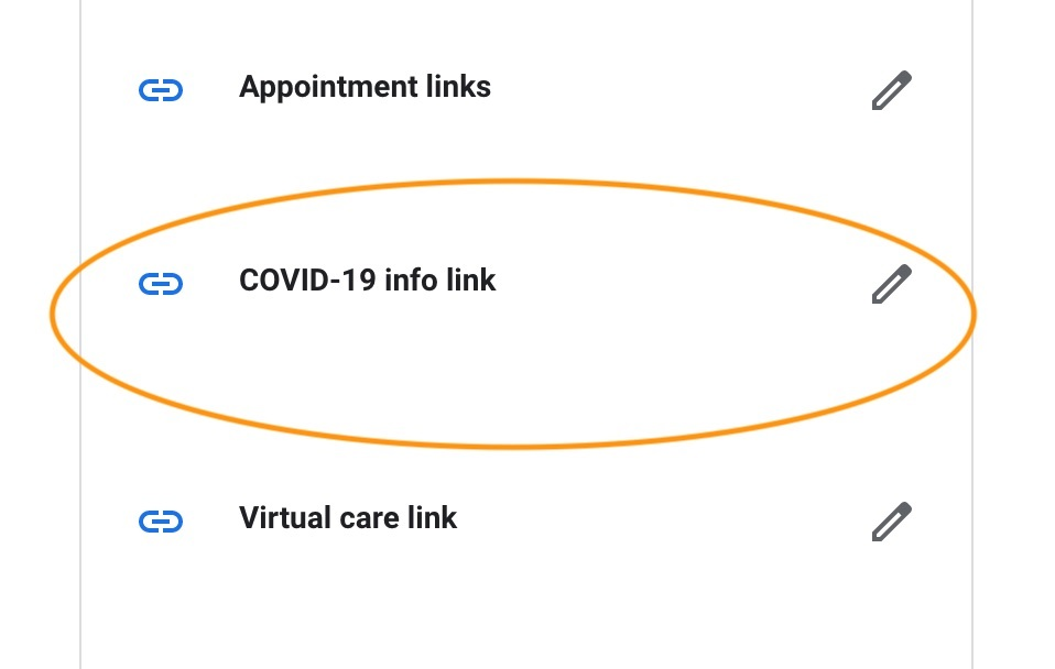 COVID-19 Info Link GMB